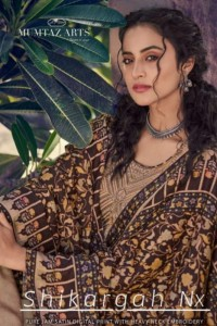 MUMTAZ ARTS SHIKARGAH NX JAM SATIN ASTONISHING KARACHI SALWAR SUITS CATALOGUE