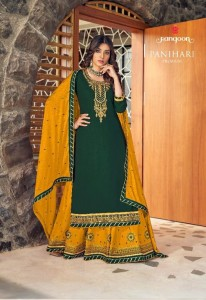 RANGOON PANIHARI PREMIUM HEAVY RAYON WITH EMBROIDERY WORK READYMADE SALWAR SUITS CATALOGUE