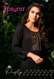 PSYNA PASTRY RYON ATTRECTIVE LOOK AND COLOURS KURTIS CATALOGUE