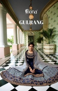 FIONA GULRANG SATIN GEORGETTE DESIGNER 22901-22907 SERIES PARTY WEAR SALWAR SUITS CATALOGUE