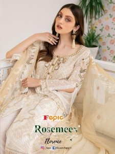 FEPIC ROSEMEEN FLORENCE GEORGETTE REGAL LOOK PAKISTANI STYLE SALWAR SUITS CATALOGUE