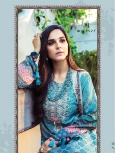 VOLONO TRENDZ MARIA B M PRINT SUMMER COLLECTION VOL 21 CAMBRIC COTTON PRINT WITH EMBROIDERY PAKISTANI SUITS CATALOGUE