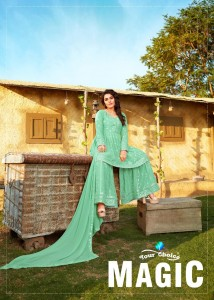 YOUR CHOICE MAGIC REAL GEORGETTE WITH HEAVY EMBROIDERY WORK SALWAR KAMEEZ CATALOGUE