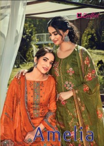 ZULFAT DESIGNER SUITS AMELIA COTTON EXCLUSIVE PRINT SALWAR SUITS CATALOGUE
