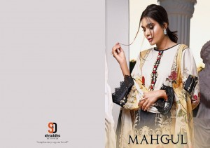 SHRADDHA DESIGNER MAHGUL VOL 1 LAWN COTTON PRINT WITH HEAVY EMBROIDERY WORK PAKISTANI SUITS CATALOGUE