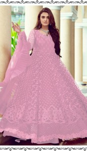 RAMSHA R 256 NX LIGHT BUTTERFLY NET GORGEOUS LOOK GOWN STYLE COLOUR CATALOGUE