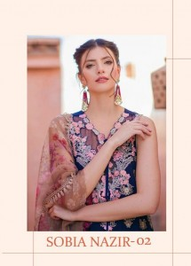 DEEPSY SUITS SOBIA NAZIR 2 PAKISTANI STYLE SALWAR SUITS CATALOGUE
