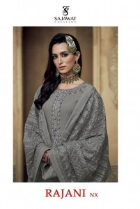 SAJAWAT CREATION RAJANI NX GEORGETTE PAKISTANI STYLE READYMADE SALWAR KAMEEZ CATALOGUE