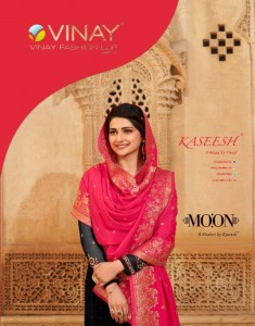 VINAY FASHION KASEESH MOON GEORGETTE EMBROIDERY SCHIFFLI WORK SALWAR KAMEEZ CATALOGUE