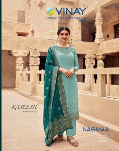 VINAY FASHION NAGMAA GEORGETTE DECENT EMBROIDARY LOOK SALWAR SUIT CATALOGUE