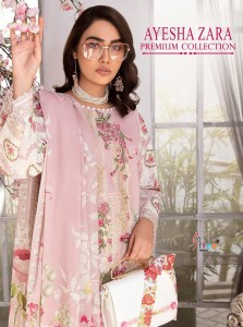 SHREE FABS AYESHA ZARA PREMIUM COLLECTION COTTON DAILY WEAR PAKISTANI SUITS CATALOGUE