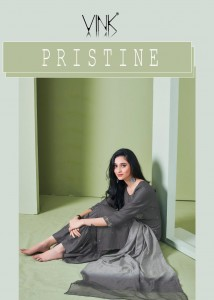 VINK PRISTINE SILK ASTONISHING KURTI WITH PANT AND DUAPTTA CATALOGUE