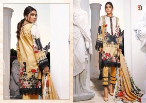 SHRADDHA DESIGNER MAHGUL NX LAWN COTTON PRINTED WITH HEAVY EMBROIDERY WORK PAKISTANI STYLE SALWAR SUITS CATALOGUE
