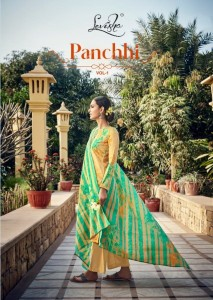 LEVISHA PANCHHI VOL 1 PURE JAM COTTON DIGITAL PRINT WITH FANCY SELF EMBROIDERY WORK SALWAR SUITS CATALOGUE
