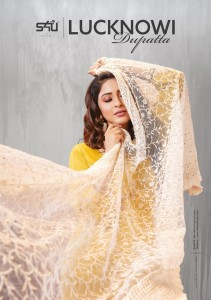 S4U SHIVALI LUCKNOWI DUPATTA CATALOGUE