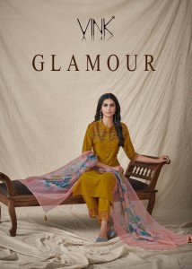 VINK GLAMOUR SILK NEW AND MODERN STYLE KURTI WITH PANT AND DUPATTA CATALOGUE