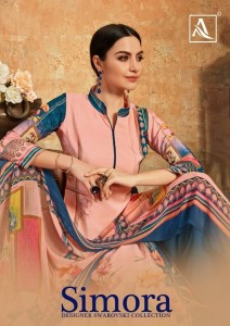 SIMORA BY ALOK SUIT FRENCH CRAPE SUITS AND SALWAR KAMEEZ DESIGNS CATALOGUE