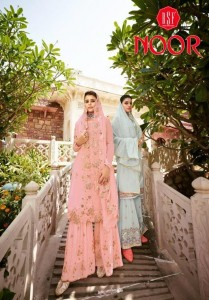 NOOR BY RSF GEORGETTE EMBROIDERY PLAZZO STYLE SALWAR KAMEEZ CATALOGUE